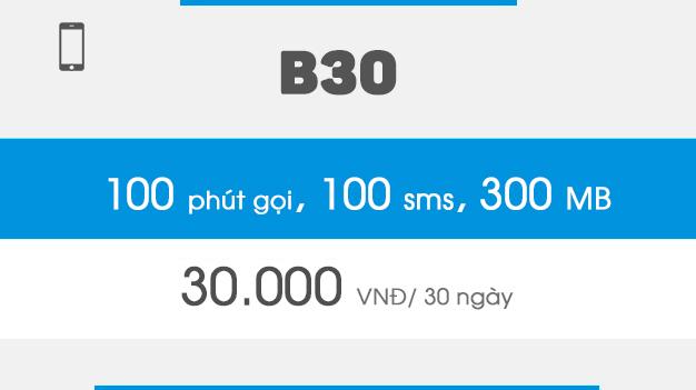 đăng ký b30 vinaphone