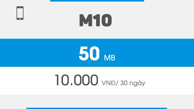 đăng ký gói m10 vinaphone