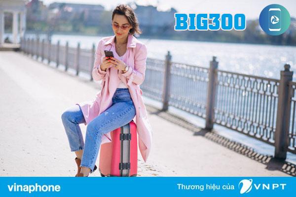 Đăng ký gói BIG300 Vinaphone nhận 36GB data 3G/4G chỉ 300.000đ