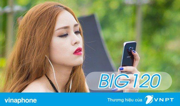 Đăng ký gói BIG120 Vinaphone nhận 12GB TỐC ĐỘ CAO chỉ 120K/tháng