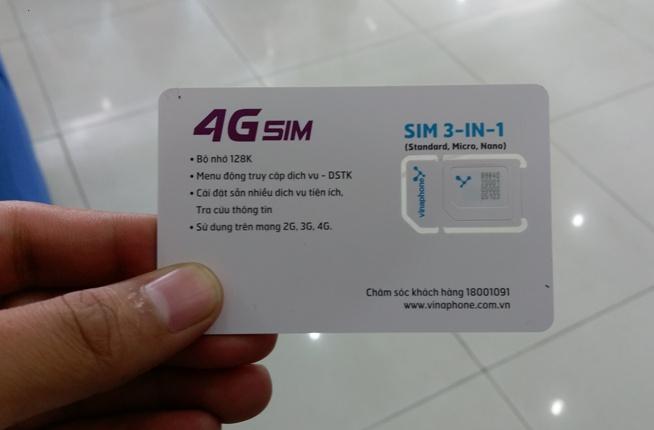 Hướng dẫn cách kích hoạt và sử dụng sim 4G VinaPhone