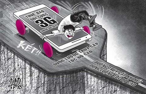 mẹo tiết kiệm dung lượng 3G