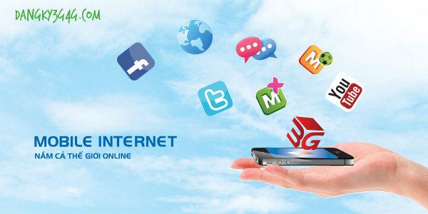 3g Vinaphone kết nối internet