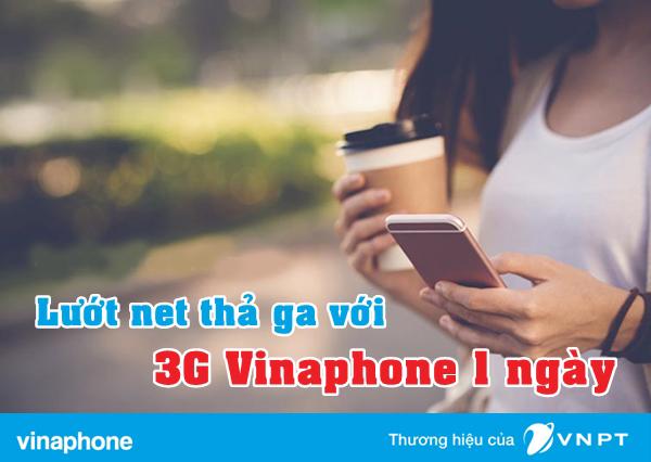 Đăng ký 3G Vinaphone 1 ngày
