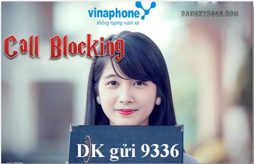 Dịch vụ chặn cuộc gọi VinaPhone thông qua đầu số 9336