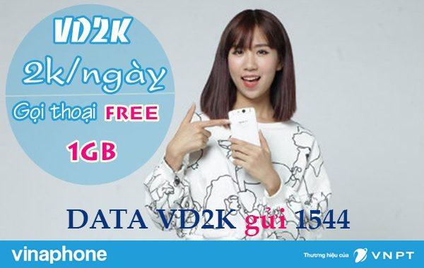 VD2K Vinaphone lướt web tẹ ga, gọi thoại miễn phí cả ngày chỉ 2.000đ