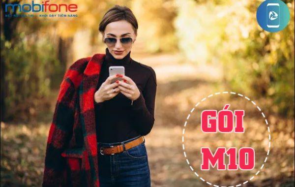 Đăng ký gói M10 của MobiFone chỉ 10.000đ lướt web cả tháng