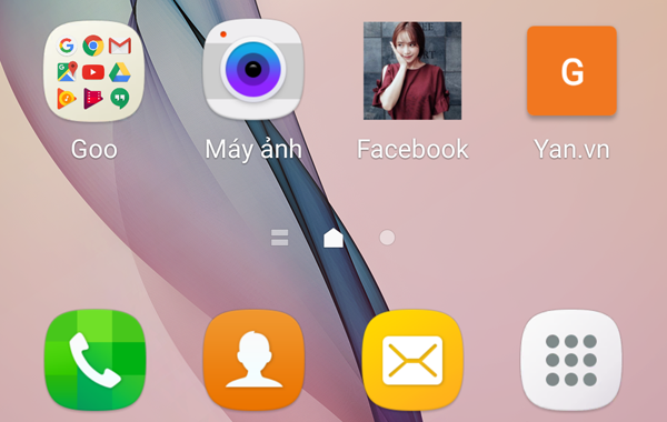 Dùng ảnh mình thích thay icon các ứng dụng điện thoại cực độc