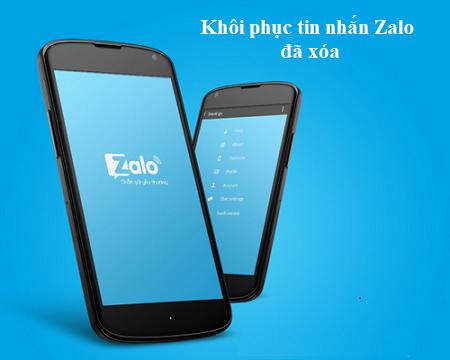 Cách khôi phục tin nhắn Zalo đã xóa trên iPhone