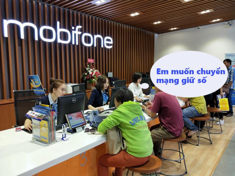 Hướng dẫn chuyển mạng giữ số từ Vinaphone sang mobifone
