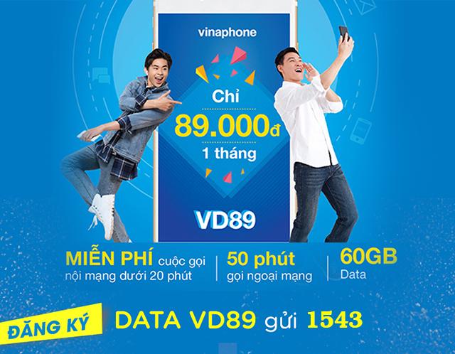 Gói VD89 Vinaphone