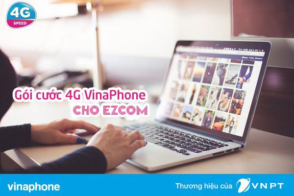 VinaPhone cập nhật hàng loạt gói Data ezCom mới giá rẻ