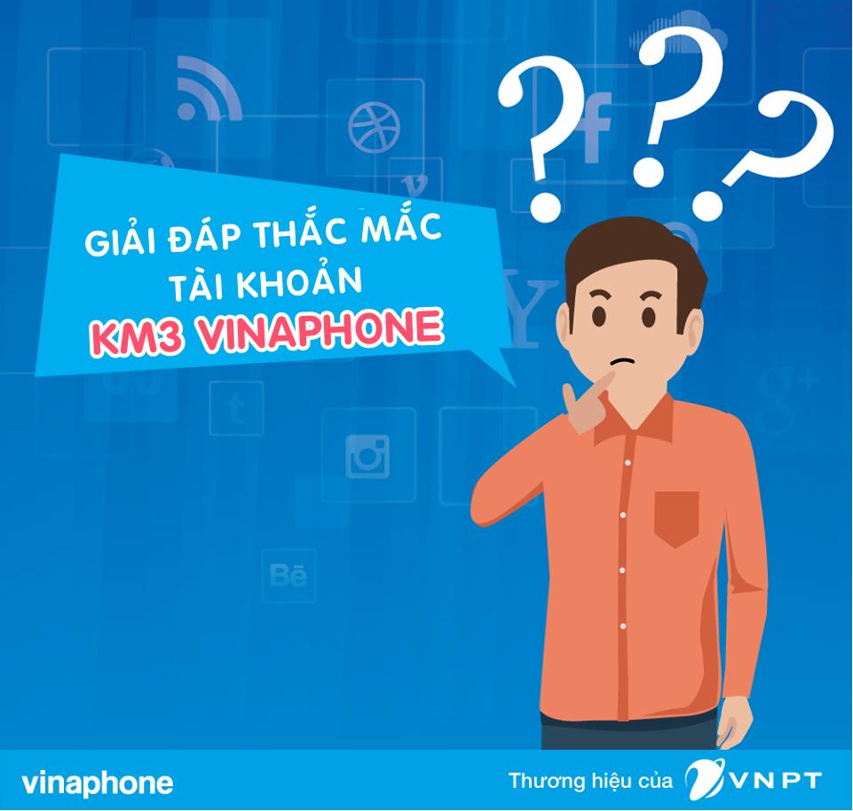 Tài khoản KM3 Vinaphone dùng để làm gì?