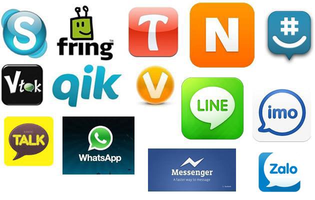 Những ứng dụng chat miễn phí trên smartphone