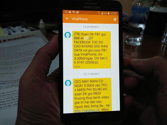 Chặn tin nhắn quảng cáo, chặn tin nhắn rác Vinaphone nhanh chóng hiệu quả