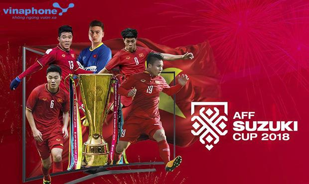 Xem AFF Suzuki Cup 2018 nên đăng ký gói cước 3G/4G Vinaphone nào?
