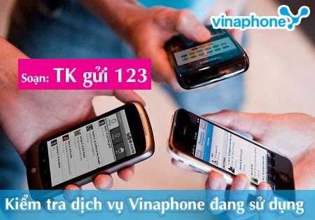 Hướng dẫn kiểm tra dịch vụ Vinaphone đang sử dụng