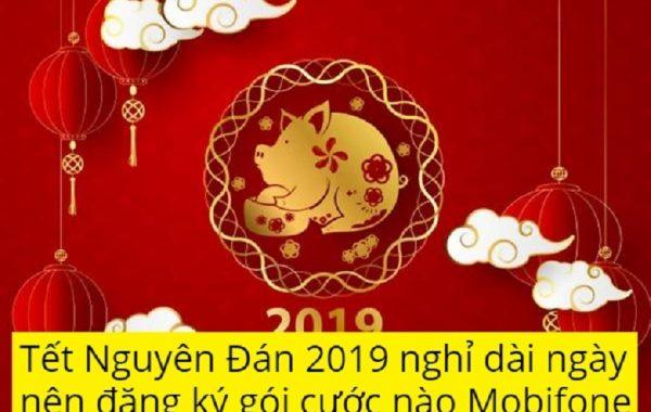 Tết Nguyên Đán 2019 nghỉ dài ngày nên đăng ký gói cước nào Mobifone