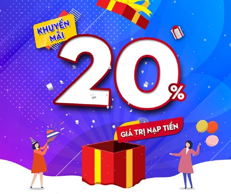 Mobifone khuyến mãi 20% ưu đãi ngày vàng 2/1/2019
