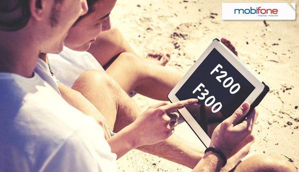 Mobifone ra mắt 2 gói data Fast Connect F200 và F300 mới
