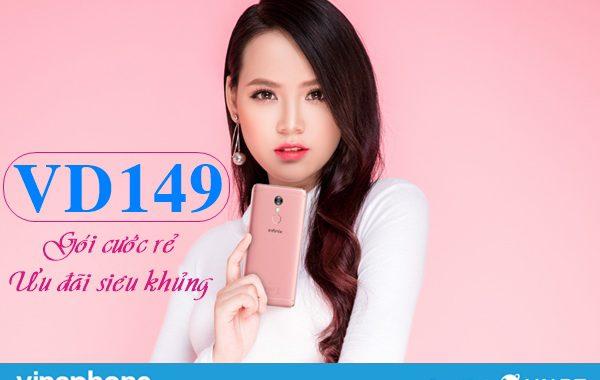 Đăng ký gói VD149 Vinaphone nhận 4GB/ngày và Free gọi thoại