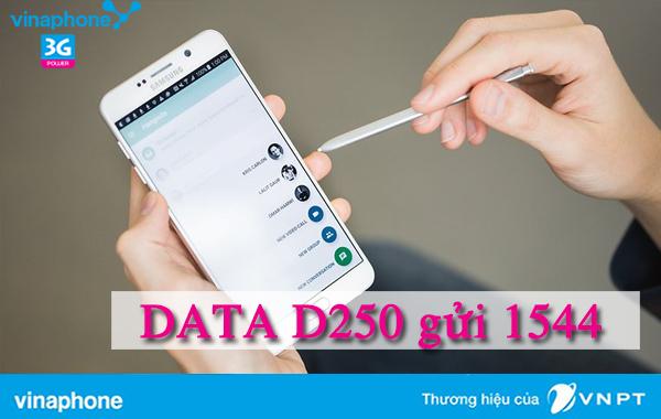 Đăng ký gói D250 Vinaphone vào mạng thả ga 6 tháng cho sim Ezcom