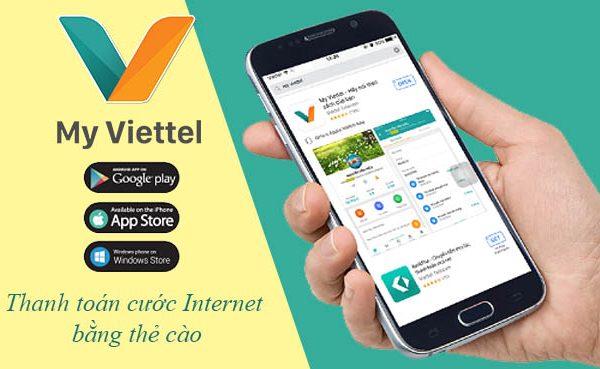 Hướng dẫn thanh toán cước Internet Viettel bằng thẻ cào nhanh gọn
