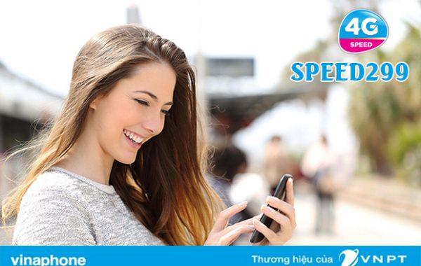 Đăng ký gói SPEED299 Vinaphone có ngay 10GB DATA lướt 4G thả ga