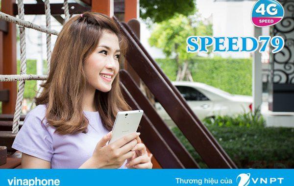 Đăng ký gói cước 4G SPEED79 Vinaphone nhận 2GB DATA chỉ 79.000đ