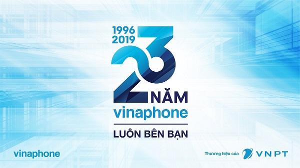 Mừng sinh nhật lần 23 Vinaphone khuyến mãi 20% thẻ nạp ngày 26/06/2019