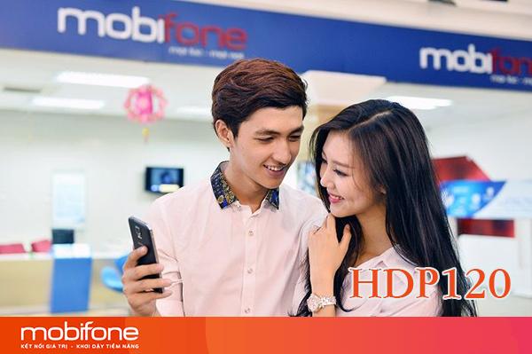 Đăng ký gói HDP120 Mobifone nhận 4GB DATA và 120 phút gọi nội mạng