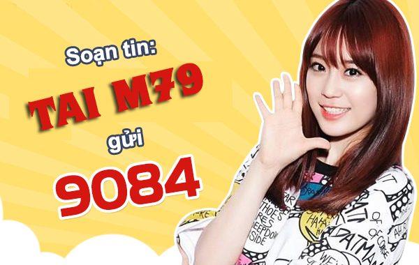Đăng ký gói M79 Mobifone nhận ngay 4GB DATA và 1020 phút gọi