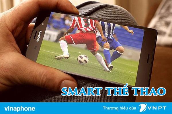 Đăng ký gói SMART2 Vinaphone nhận 8GB và xem tin thể thao thả ga