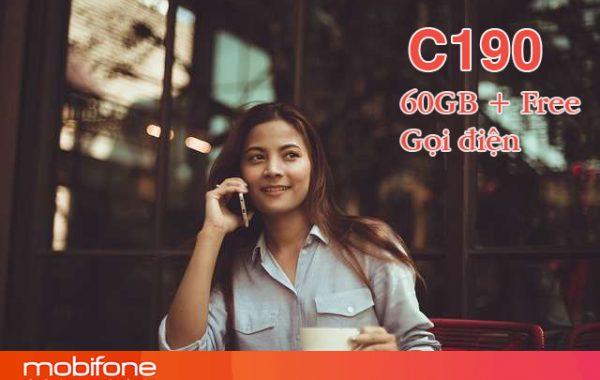 Đăng ký gói C190 Mobifone nhận 2GB/ngày và gọi miễn phí nội mạng