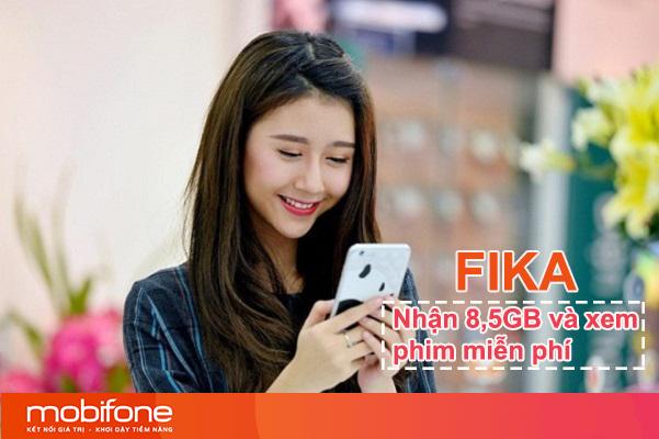 Đăng ký gói FIKA Mobifone nhận 8,5GB và xem phim thả ga