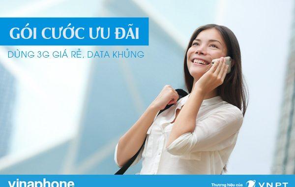 Những gói cước ưu đãi giá rẻ của Vinaphone mới nhất 2020