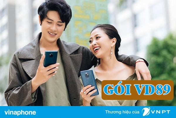Đăng ký gói VD89 Vinaphone ưu đãi từ 1 tháng đến 12 tháng
