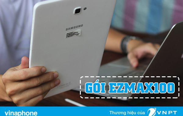 Đăng ký gói Ezmax100 Vinaphone nhận 9GB cho sim Ezcom