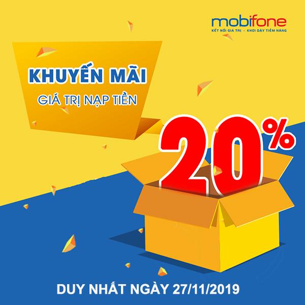 mobifone-khuyen-mai-the-nap-ngay-27-11-2019