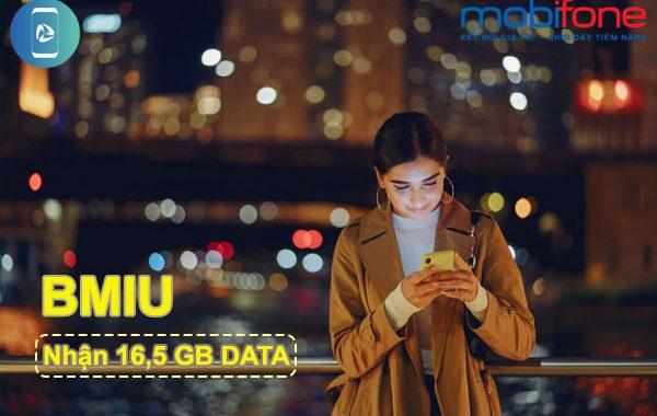 Đăng ký gói BMIU Mobifone có ngay 16,5GB DATA giá 200.000đ