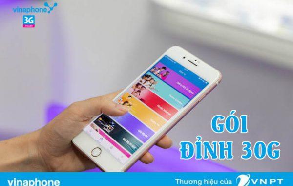 Đăng ký gói ĐỈNH D30G Vinaphone có ngay 30GB chỉ 90.000đ