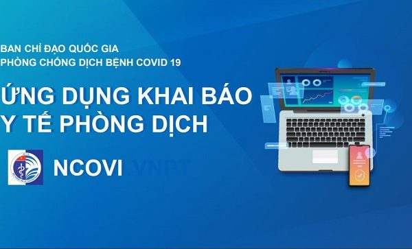 Vinaphone miễn phí 3G/4G truy cập app NCOVI khi khai báo y tế