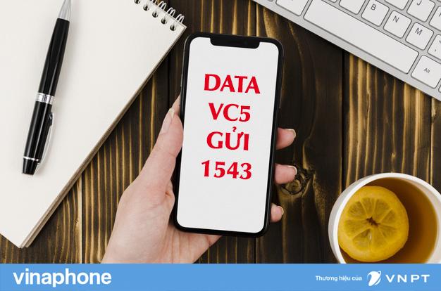 Gói VC5 Vinaphone chỉ 5k/ngày lướt data thoải mái