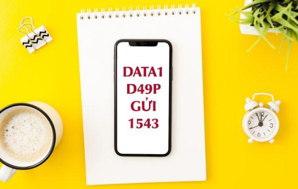 Cách đăng ký gói D49P VinaPhone nhận 60GB + 1000 Phút gọi